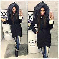 Куртка-пальто №01509 (утеплитель холофайбер)