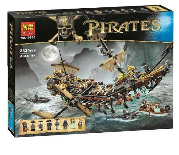 Конструктор Bela 10680 Безмолвная Мэри. Пираты Карибского моря (аналог Lego Pirates of the Caribbean 71042)