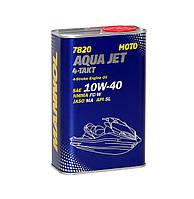 Полусинтетическое масло для 4-тактных двигателей  Mannol 7820 Aqua Jet 4-Takt API SL 1L