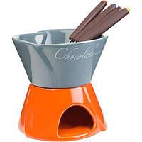 Набор для фондю Twist синий/оранжевый N51610206