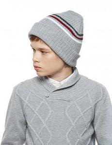 Детские зимние шапки для мальчиков оптом
