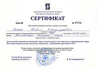 Сертификат адвоката Павла Лыски от 22.06.17 о повышении квалификации