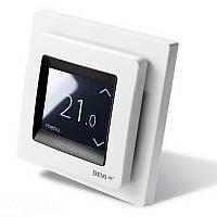 Электрический теплый пол DEVI Автоматика DEVIreg Touch белый 140F1064
