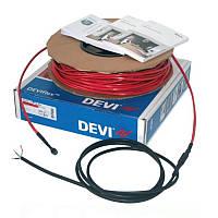 Электрический теплый пол DEVI Нагревательный кабель DEVIflex 18T-68м 140F1245