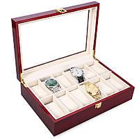 Шкатулка для часов из дерева 12 отделений Rothenschild