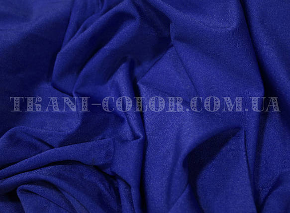 Ткань бифлекс блестящий синий электрик, фото 2