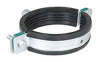 WALRAVEN ` BIS HD 1501 Хомут для больших нагрузок с рез. изол. М10/12 72-78мм 2 1/2'' 33143078