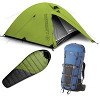 Палатки, тенты, спальные мешки и коврики.