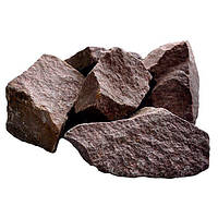 Камни для саун Малиновый кварцит 20 кг