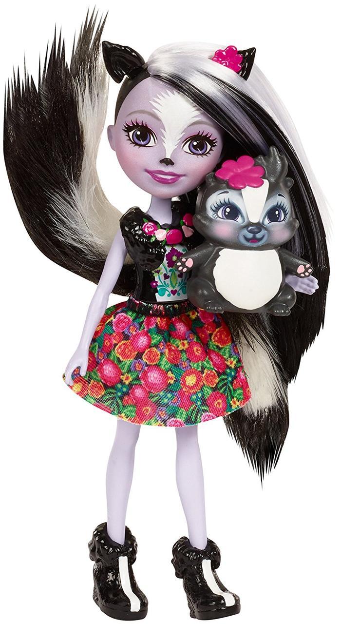 Энчантималс Сейдж Скунк и скунс Кэйпер Enchantimals Sage Skunk and skunk Caper