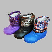 Сапоги резиновые детские,осень-зима,размер 28.