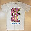 Odd Future Real Shirt | Футболка белая с биркой OFWGKTA
