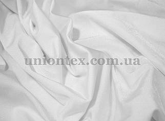 Трикотаж бифлекс (купальник) блестящий белый