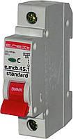 Автоматический выключатель e.mcb.stand.45.1.C16, 1р, 16А, C, 4,5 кА