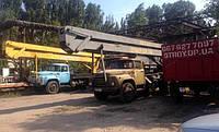 Аренда автовышки 17м и 12м. Днепропетровск