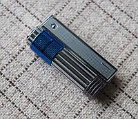Бензиновая зажигалка Imco 6700BL(синяя вставка) Triplex с регулировкой пламени