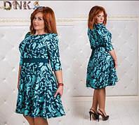 Женское платье батал кукуруза 50-56, фото 1