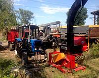 Трактор, дереводробильная машина