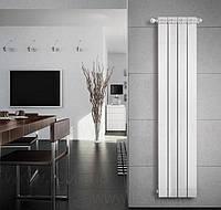 Радиатор алюминиевый дизайнерский вертикальный Nova Florida Maior S/90 (H=900 мм.) Италия