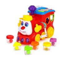 Детская обучающая игрушкаHuile Toys Паровозик556