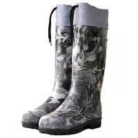 Сапоги резиновые Охота и рыбалка Охота серый 45 размер N10317047