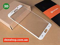 3D Защитное стекло Mocolo для Samsung G928F Galaxy S6 Edge Plus (White)