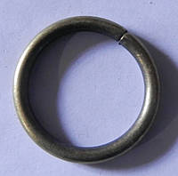 Кольцо обычное д. 16 мм, антик