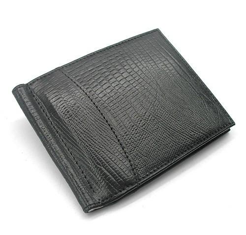 Купюрник зажим для денег кожаный карты Canpellini