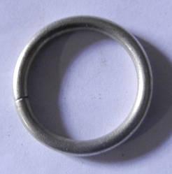 Кольцо обычное д. 16 мм, хром/мат