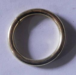 Кольцо обычное д. 16 мм, золото