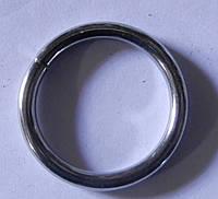 Кольцо обычное д. 16 мм, хром