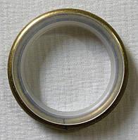 Кольцо тихое+крючок д. 16 мм, антик