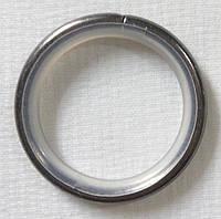 Кольцо тихое+крючок д. 16 мм, сталь