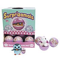Мягкая игрушка-сюрприз в шаре SURPRIZAMALS S3 (12 видов в ассорт.из дисплея)