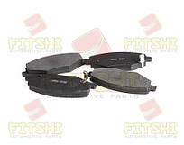 Колодки тормозные передние Chery Amulet (+ABS, -ушко)