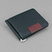 Купюрник зажим для денег на магните удостоверение черный Rocco Barocco 5183, фото 1