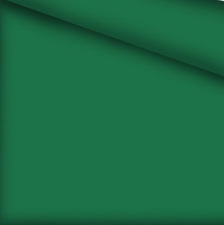 Хлопковая ткань однотонная темно-зеленая №421