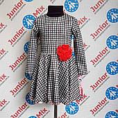 Детское платья в мелкую клеточку на девочек оптом MEWA