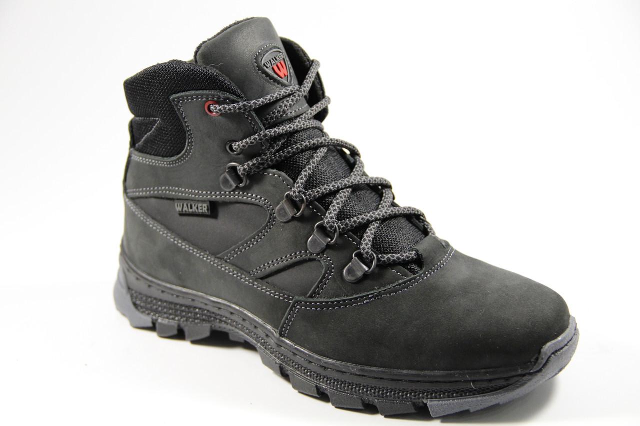Зимняя детская спортивная обувь из натуральной кожи WAL33BKR