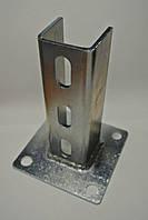 Кронштейн потолочный усиленный 41х41х4 мм