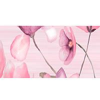 Декор Golden Tile Flora №2 розовый 1В5321 200х500 мм N60235130
