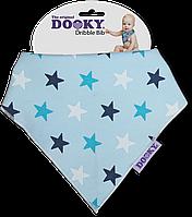 Нагрудник - бандана Dooky Dribble Bib Blue Stars НОВИНКА!