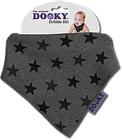 Нагрудник - бандана Dooky Dribble Bib Grey Stars НОВИНКА!