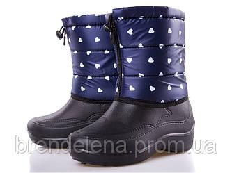 Дуті зимові чоботи піна на хутрі р(36-40)