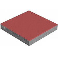 Плитка тротуарная  400x400 мм красная N10408879