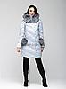 Зимняя женская куртка CHANEVIA 91707 BLUE, размер L (46)
