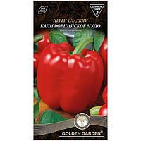 Семена Golden Garden Перец сладкий Калифорнийское чудо 0.3 г N10843141