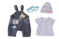 Набор одежды для куклы BABY BORN - ДЖИНСОВОЕ НАСТРОЕНИЕ  (2 в ассорт.)***