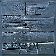 """Пластиковая форма для 3d панелей """"Древесный микс"""" 45*45 (форма для 3д панелей из абс пластика), фото 1"""