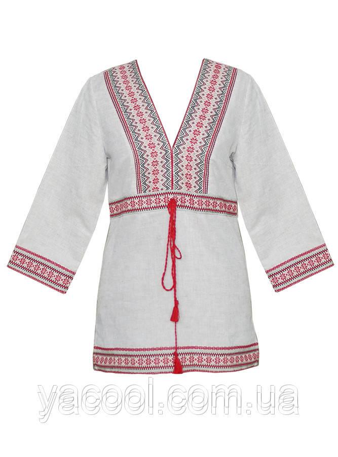 Сорочка вышиванка женская домотканные полотна и лен белый-серо-кофейный и  черный - Интернет c5145121f28e9